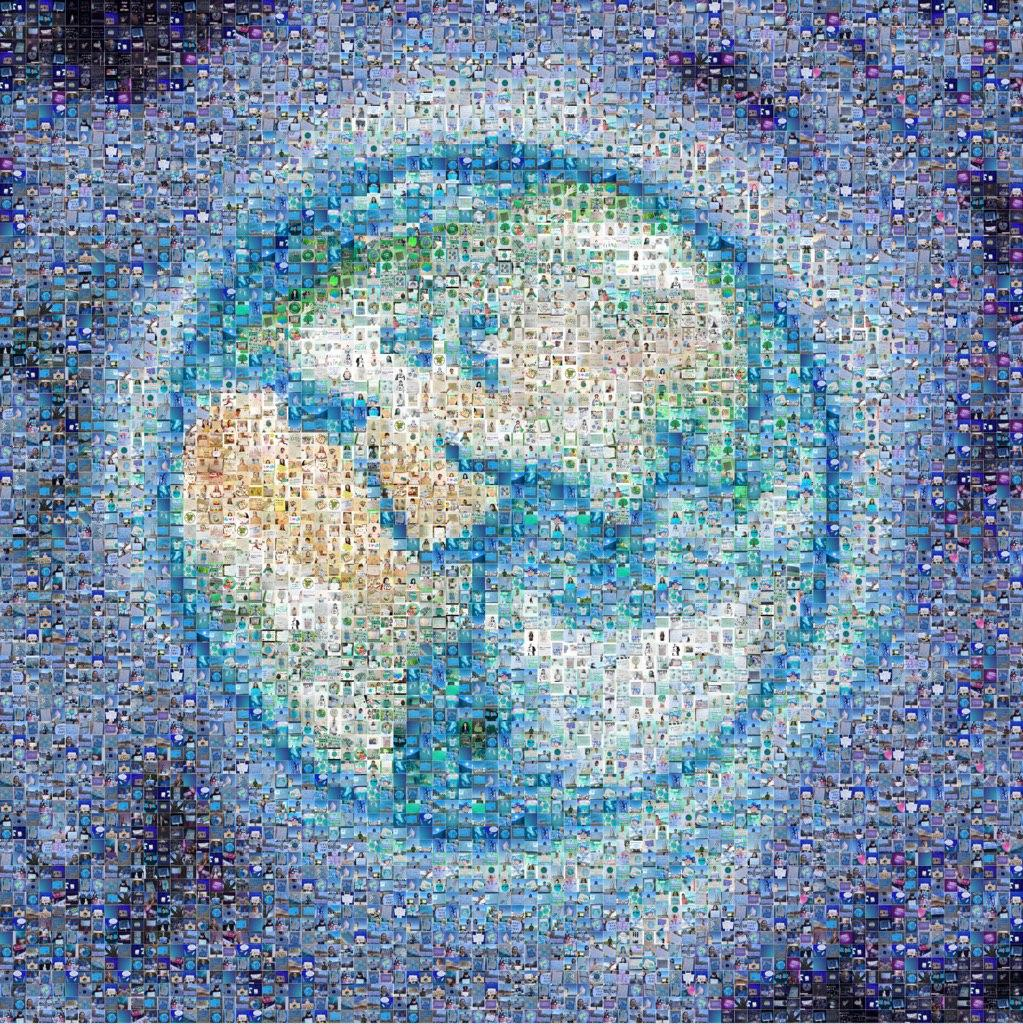 FFF Digital Strike - Earth Collage