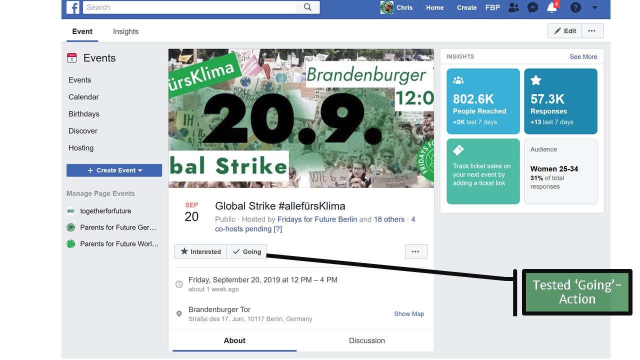 campaign 20.09.2019 - facebook event