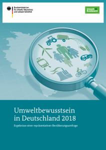 Umwelbewusstsein 2018 Deutschland