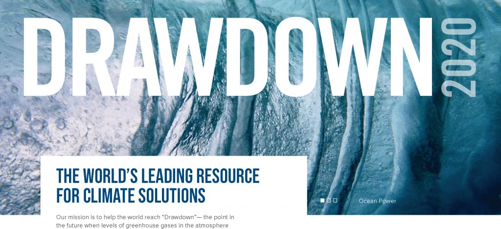 drawdown - climate solutions