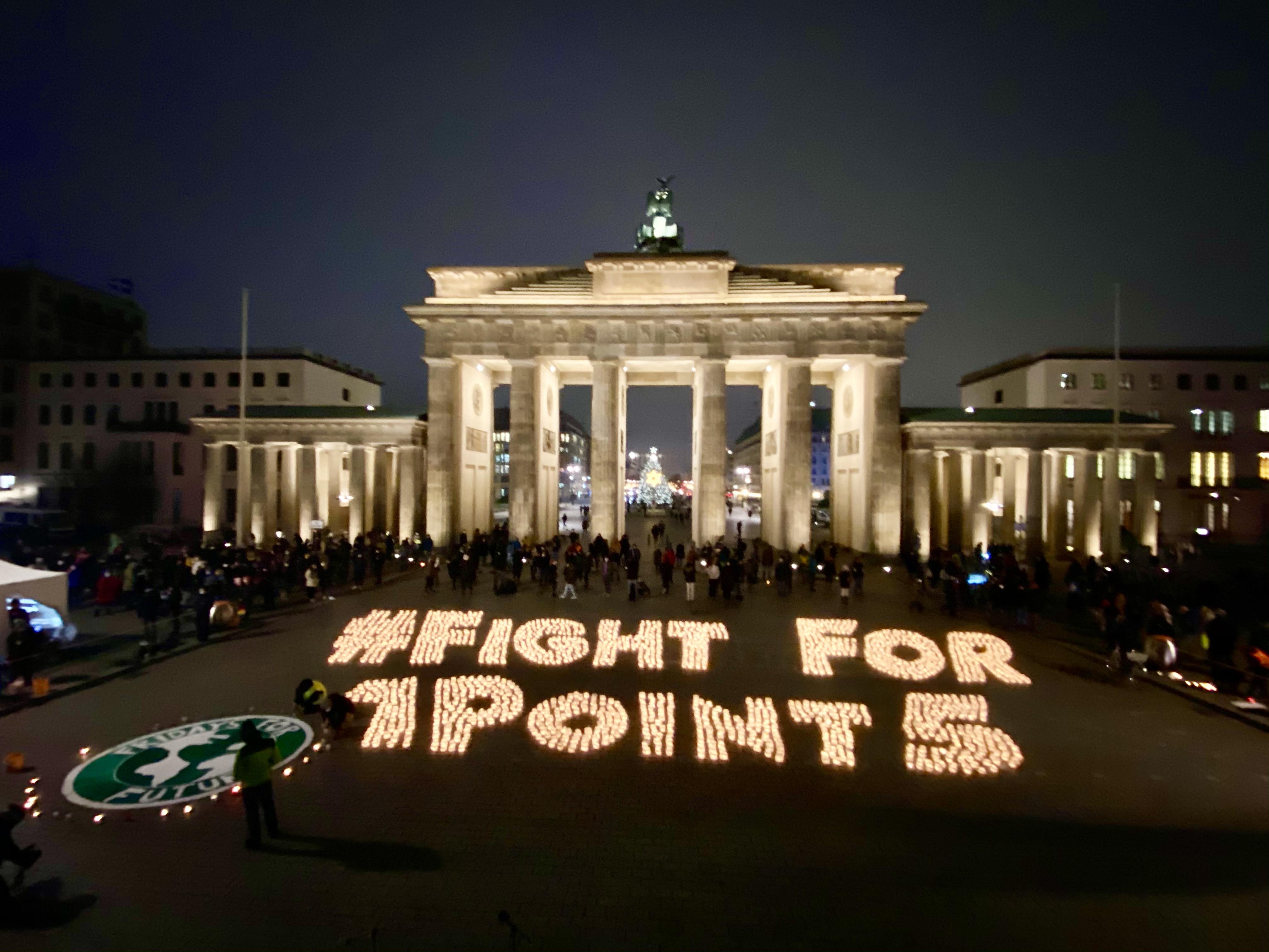 FightFor1Point5 - Berlin