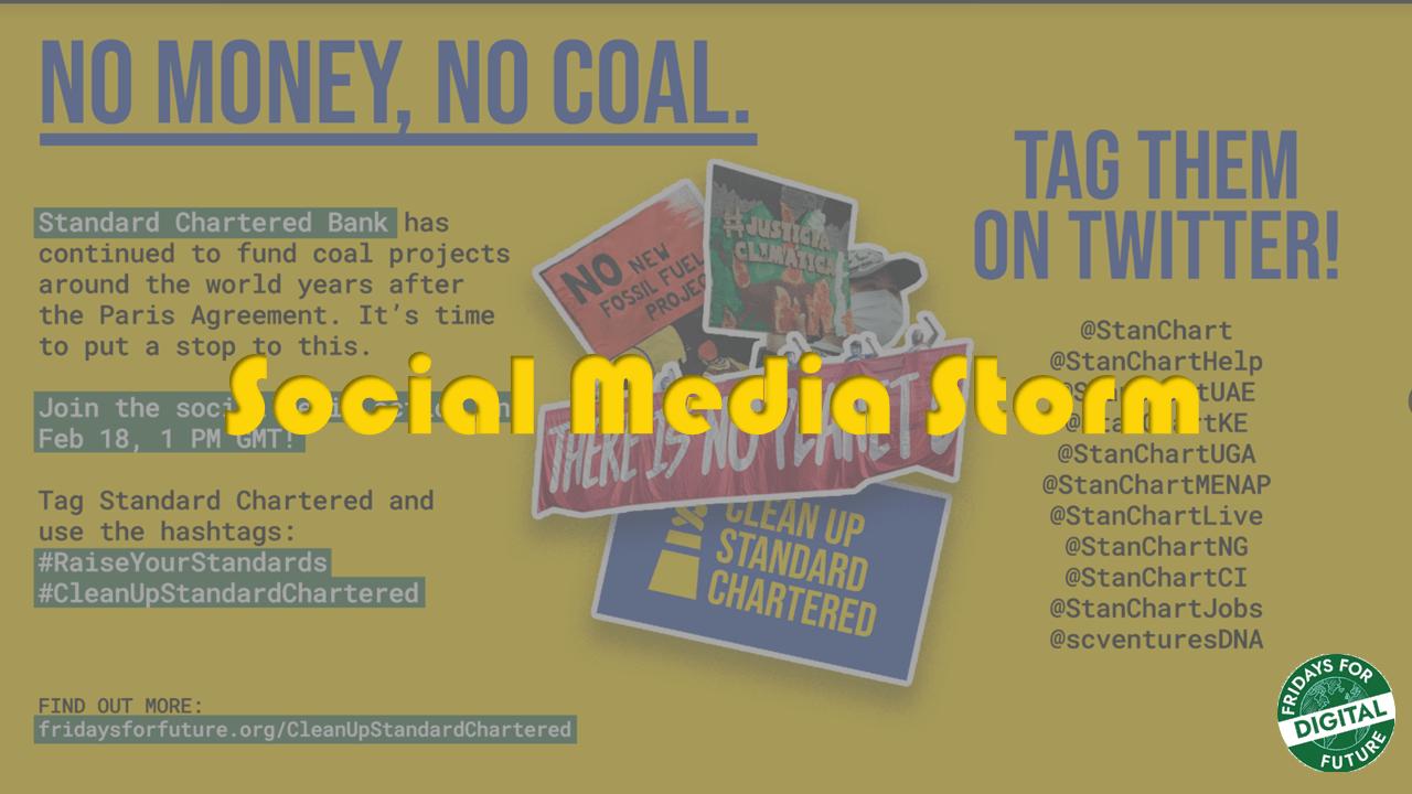 SCB - Social Media Storm